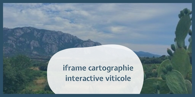 iframe cartographie interactive viticole