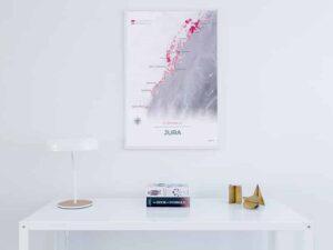 Poster vin du Jura