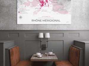 Poster Rhône-méridional