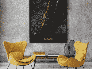 Poster Alsace night