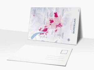 Carte postale de vignoble