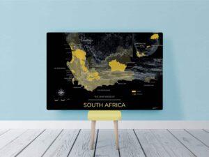 Mockup toile Afrique du Sud Night