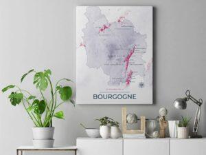 Modern Toile Bourgogne