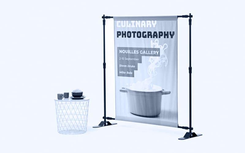 photocall en noir et blanc