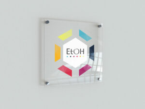 Plexiglas Publicitaire transparent