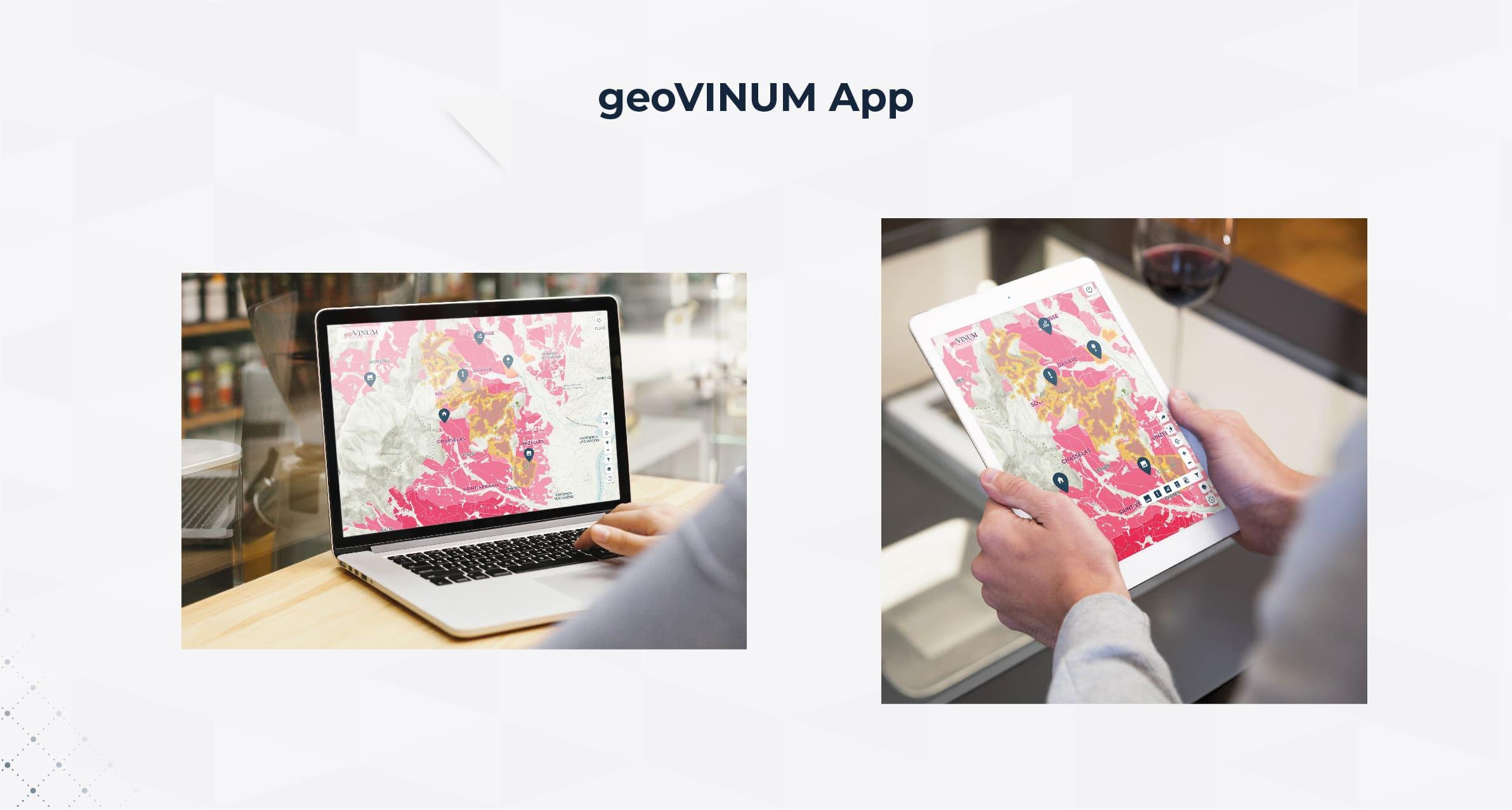 Portfolio geovinum Application